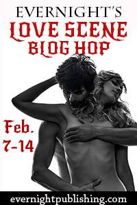 Evernight Love Scene blog hop