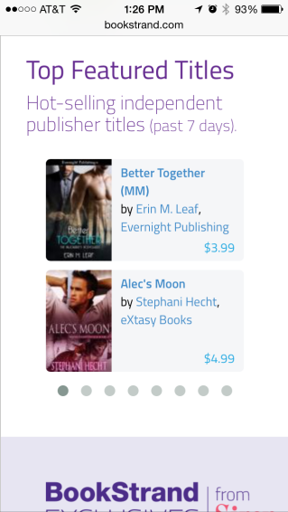 BookStrand Featured